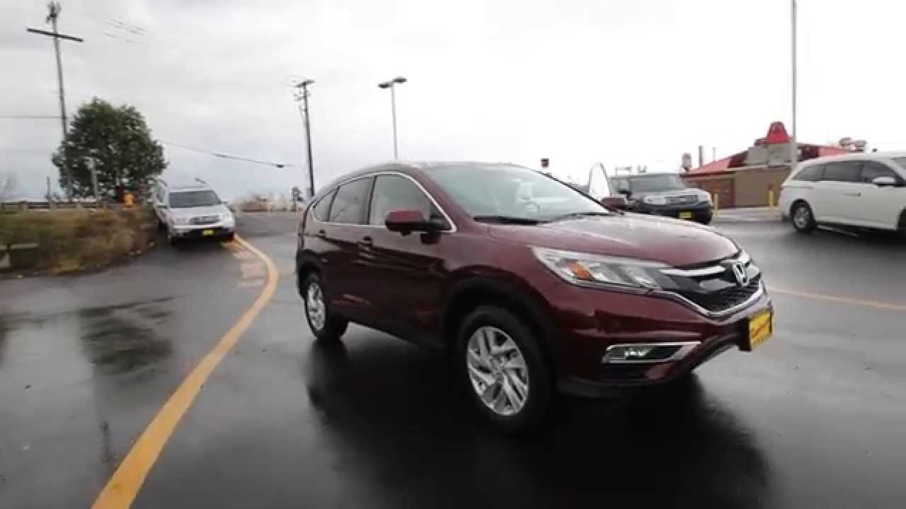 2017 Honda Cr V Ex L Basque Red Pearl Fh614975 Seattle On