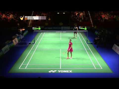 Sung Ji Hyun vs Carolina Marin | WS F Match 2 - Yonex German Open 2015