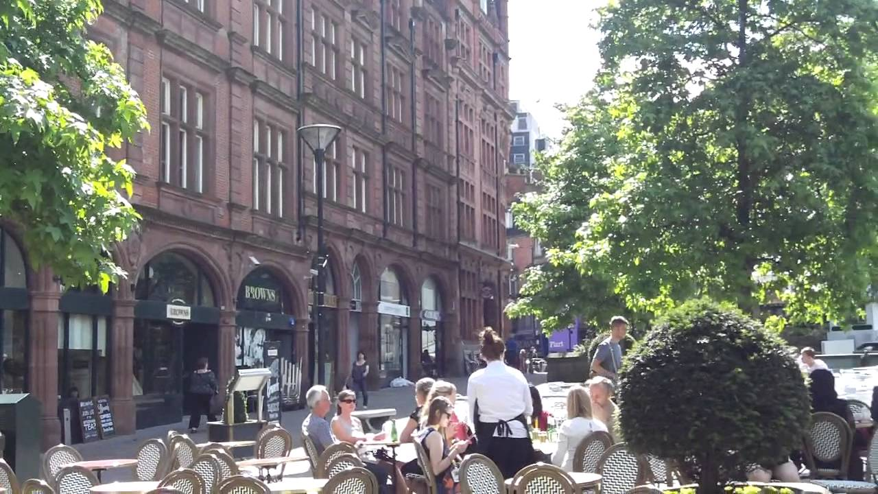 sheffield city centre and winter gardens youtube