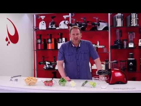 Sana Juicer by Omega EUJ-707 - Fresh Salsa recipe