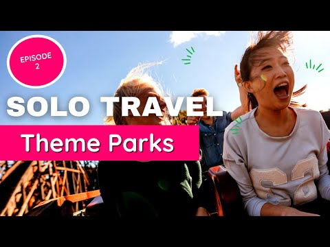 Theme Parks Alone :Ever Wanted to Go to a Theme Park Solo? (Episode 2)