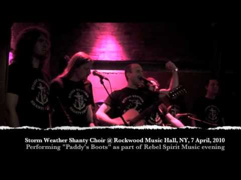 Storm Weather Shanty Choir in New York performing