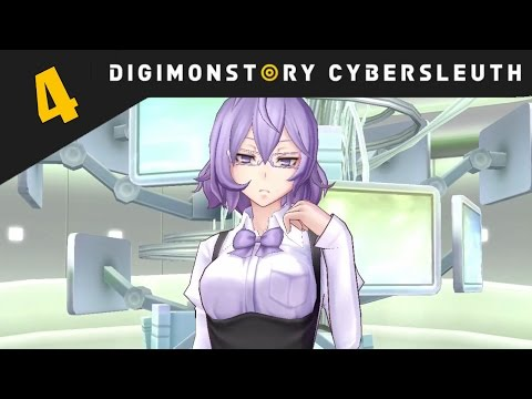 Digimon Story: Cyber Sleuth PS4 / PS Vita Let's Play Walkthrough Part 4 - Mirei And The DigiLab