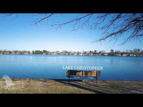 Drone Flying Lake Christopher, Virginia Beach-03 12 17