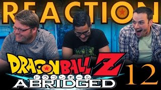 TFS DragonBall Z Abridged REACTION!! Episode 12