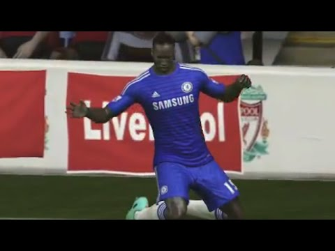 FIFA 15 - Liverpool vs Chelsea w/ Extra Time + Shootout! (DEMO)
