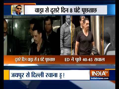 Land scam case: ED questions Robert Vadra for 2nd day Mp3