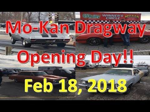Mo-Kan Dragway - Opening Day 2018! Drag Racing, Roll Racing, Pit Bikes