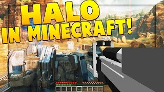 HALO MOD (CLASSIC SLAYER W/ TANKS, GUNS, EXPLOSIVES) | Minecraft - Mod Battle