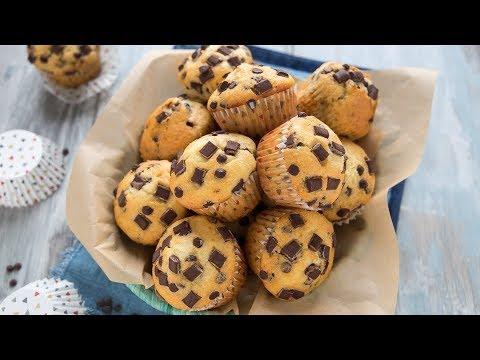 Muffin Con Gocce Di Cioccolato Ricetta In 5 Minuti Chiarapassion