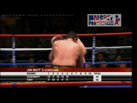 McDermott v Fury Highlights