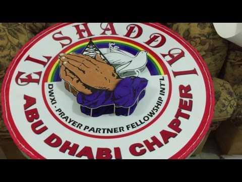 El Shaddai Abu Dhabi Chapter 21st Thanksgiving Celebration