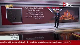 معتز عبد الفتاح: 6 دول عربية تأثرت بضعف جيوشها -فيديو