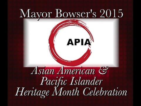 DCN Presents: OAPIA Heritage Month Celebration, 5/26/15