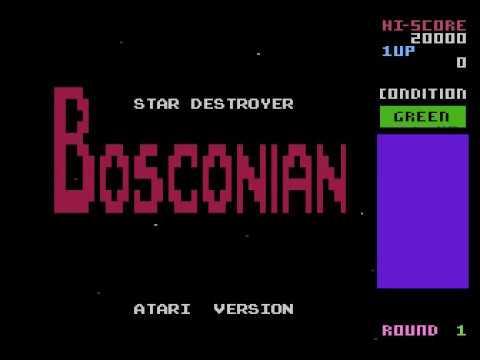 Bosconian (Atari 8-bit, 18.05.2017 work in progress)
