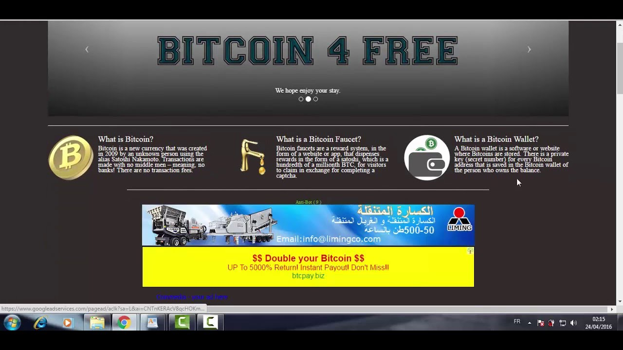 1000 satoshi in 1 Minute / Withdraw FaucetBox / - YouTube