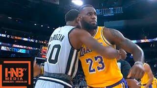Los Angeles Lakers vs San Antonio Spurs 1st Qtr Highlights | 10.27.2018, NBA Season