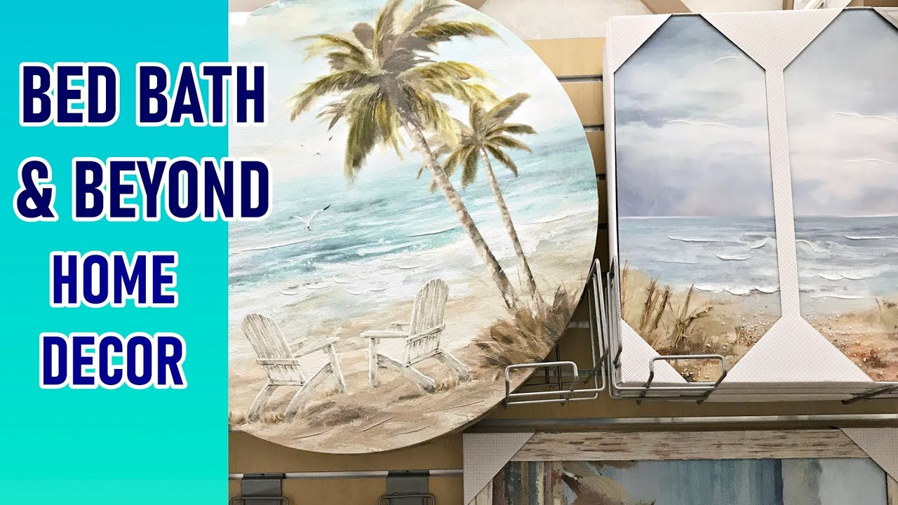 Bed Bath Beyond Home Decor Shop With Me 2020 Youtube