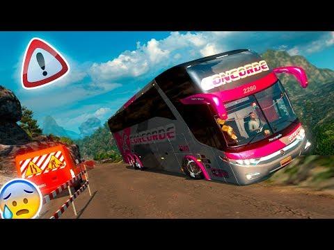 CAEREMOS AL ABISMO!! (?) | CARRETERAS EXTREMAS COLOMBIA!! | EURO TRUCK SIMULATOR 2