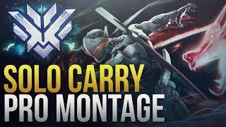 When Pros Solo Carry #2 - Overwatch Montage