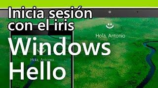 Windows Hello - Demostración en Español del reconocimiento de cara e iris
