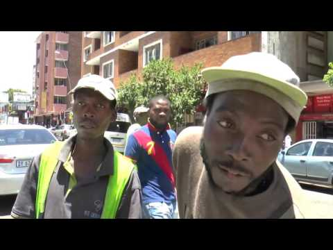 walking the streets of Hillbrow, Johannesburg, South Africa : December 2016