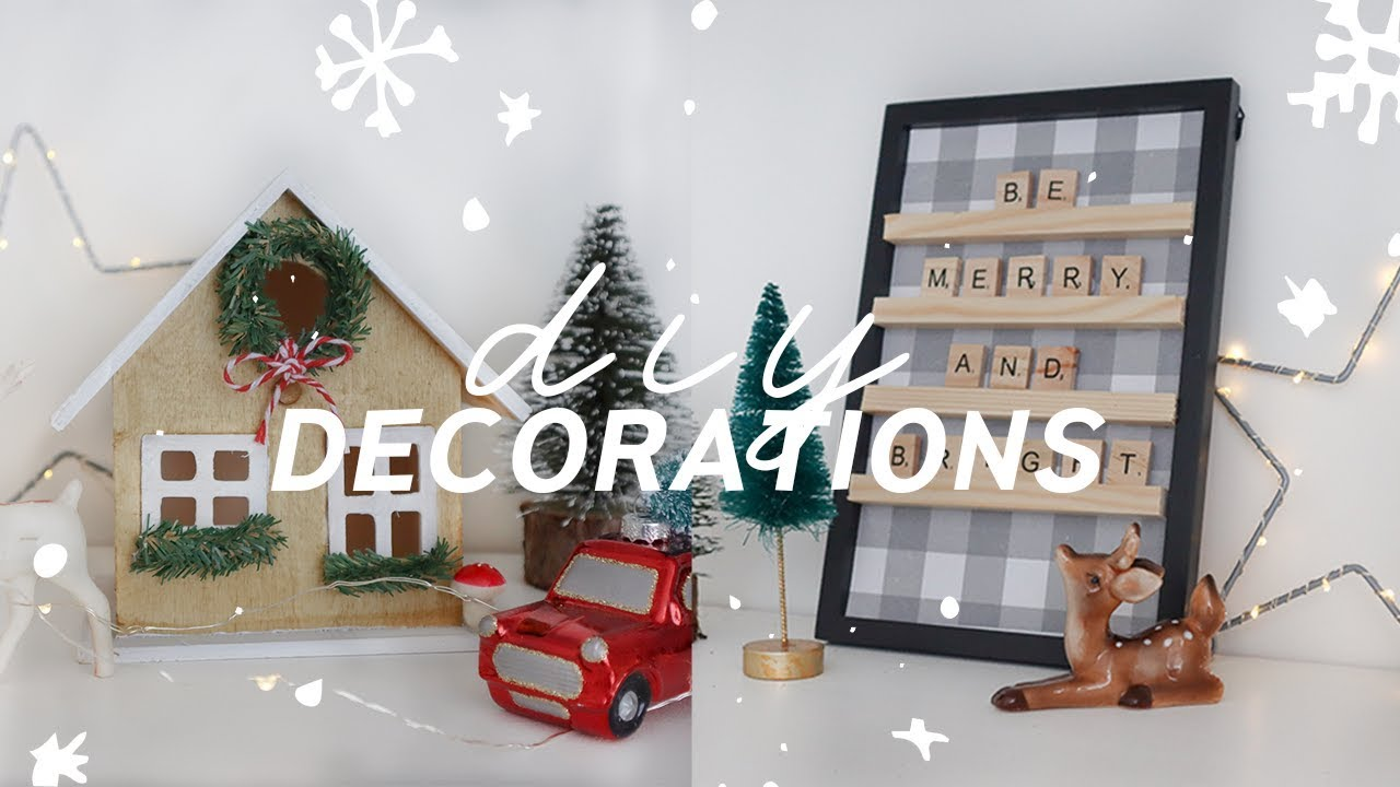 DIY Christmas Decorations 🎄☃️ Easy Traditional Christmas Decor on a Budget  2019