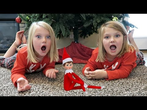 THE ELF ON THE SHELF STOLE CHRISTMAS!