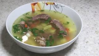 345.  Картофельный суп с копчеными свиными ребрышками.