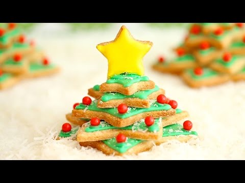 Irish Shortbread Christmas Tree Cookies (Ultimate Cookie Collab) - Gemma's Bigger Bolder Baking 48