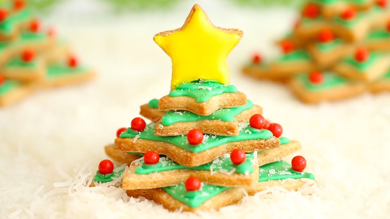 Irish Shortbread Christmas Tree Cookies Gemma S Bigger Bolder Baking