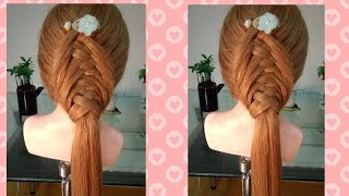 小女人魅力up/韓系甜美編髮!Sweet braid tutorial for weekend game.