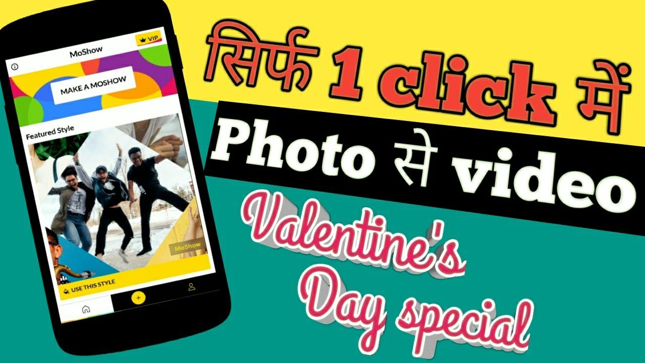 MoShow - Slideshow Movie Maker l photo to video maker app Android Apps on  Google Play l M TECH HINDI