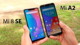 Xiaomi Mi 8 SE VS Mi A2, con cualquiera Acertarás!