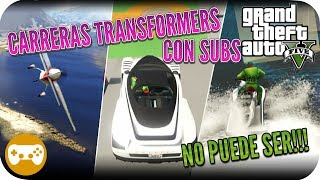 GTA 5 ONLINE GAMEPLAY ESPAÑOL CON EPSILON CARRERAS
