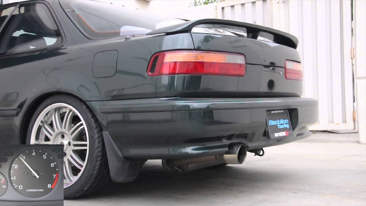 Tanabe Medalion Touring Exhaust For Acura Integra RSLSGS - 1990 acura integra muffler