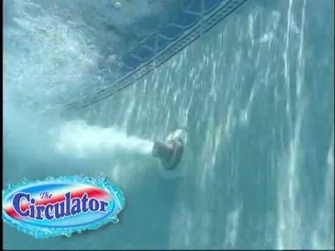 The Circulator Rotating Water Jets for Swimming Pools - YouTube