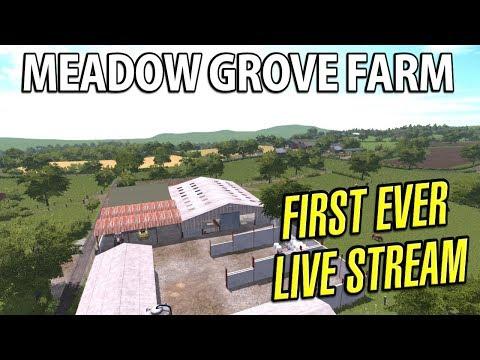 LIVE Farming Simulator 17 | Meadow Grove Farm - Episode 1