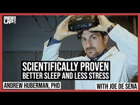 Scientifically proven better sleep and less stress Andrew Huberman, PhD + Joe De Sena
