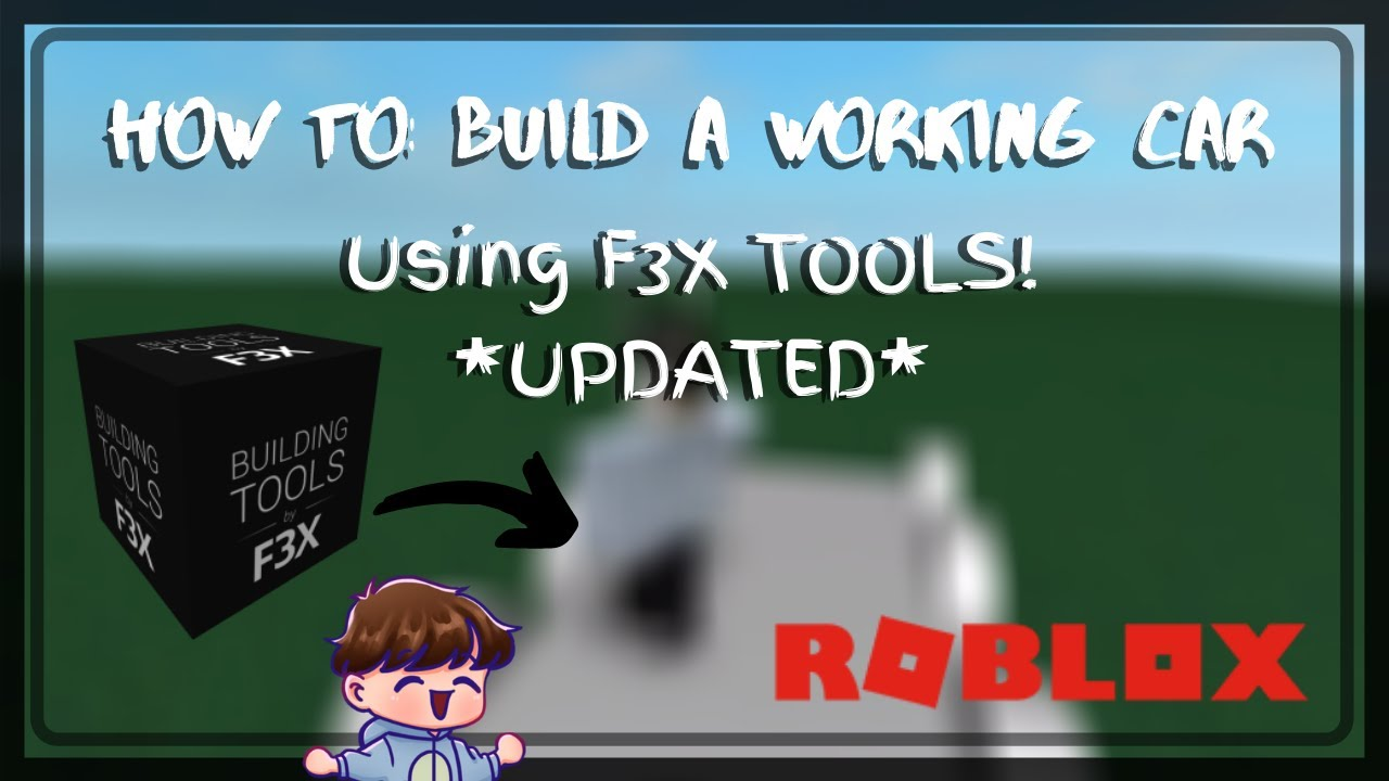 Best F3x Building Games On Roblox How To Build A Working Car Using F3x Tools Updated Roblox Hazytwo By Hazy