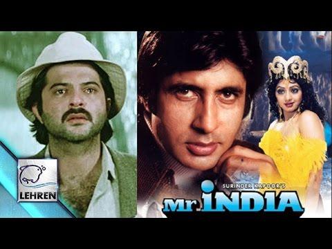 Amitabh Bachchan Was The Original 'MR.INDIA' !