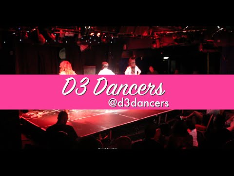 GOP & D3 dancers on stage at Rotimo and Friends Show London