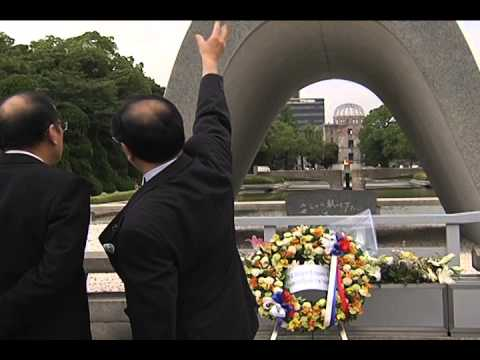 Tour at the Hiroshima Memorial Peace Park 6/24/2014