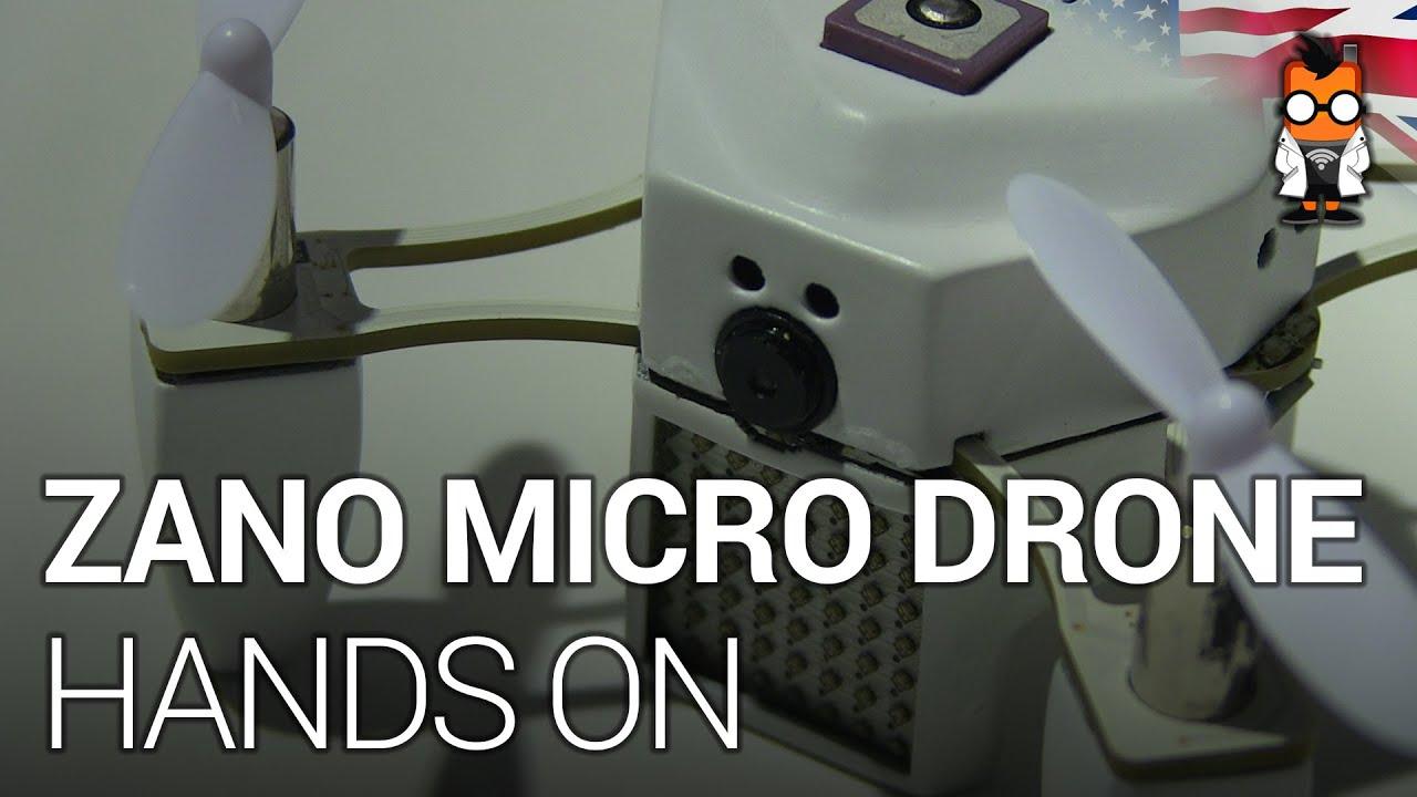 Zano Autonomous Micro Drone Hands On