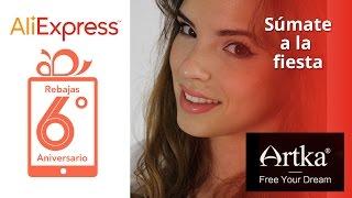 AliExpress - Review Haul Artka por Misspetitep