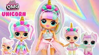 LOL OMG Makeover DIY Unicorn Big Sister OMG Fashion Doll