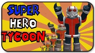 Roblox Super Hero Tycoon - I Am The Magically Shrinking Ant Man