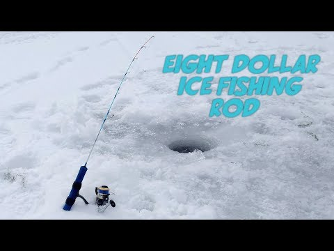 Ice Fishing Rod Under $10?! HT Ice Blue First Impressions