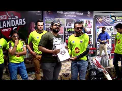 OCS Organizes Pre hype Awareness Campaign of Lahore Qalandars