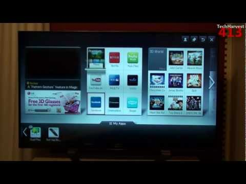 LG 3D Cinema Smart TV (47LM7600): Walkthrough